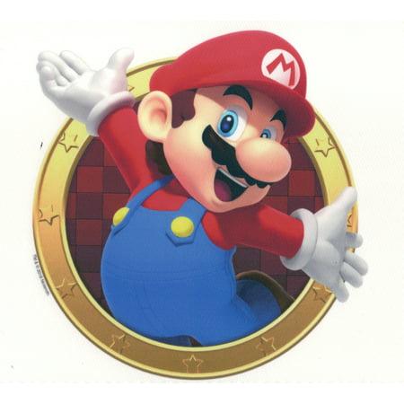 Super Mario ™ Mario Edible Icing Image for Cake, cookie or - Super Mario Cake