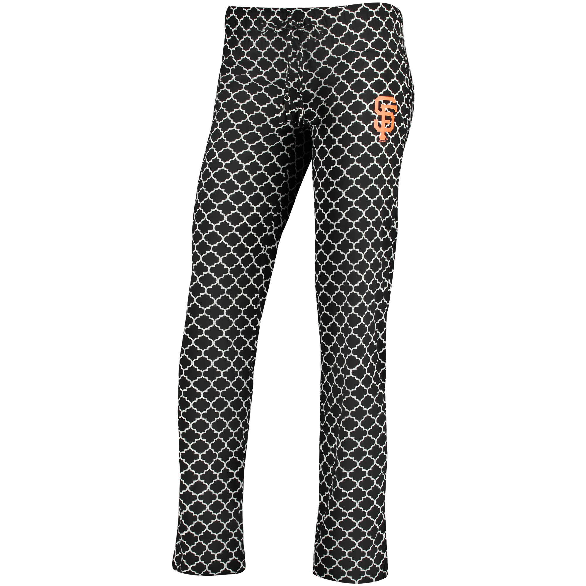 San Francisco Giants Concepts Sport Women's Slumber Sleep Pants - Black/White