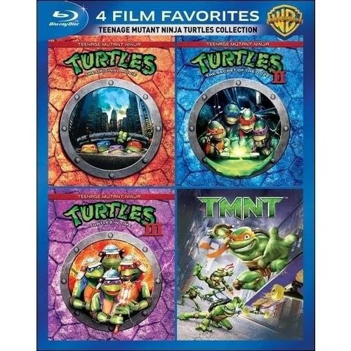 4 Film Favorites: Teenage Mutant Ninja Turtles Collection (Blu-ray)