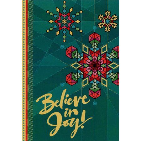 Hallmark Christmas Cards.Hallmark Believe In Joy African American Box Of 16 Christmas Cards