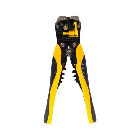 UBesGoo Wire Stripper, Self-adjusting Cable Cutter Crimper, Automatic Wire Stripping Cutting Pliers Tool, for Industry Use, for 0.2-6mm2 (10-24