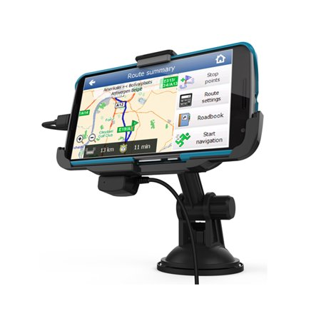 RND Vehicle Charging Dock for the Google Nexus 6 [Compatible with or without a slim fit case.)