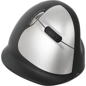 Ergoguys R-Go Wireless Vertical 2500dpi Ergonomic Mouse Left Hand - Black