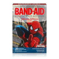 Band-Aid Adhesive Bandages, Marvel Spiderman, Assorted Sizes 20 ct