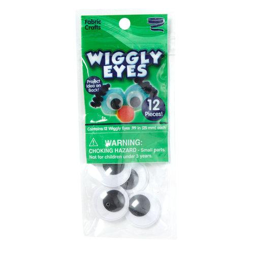 Kids Craft Wiggly Eyes, 12pk