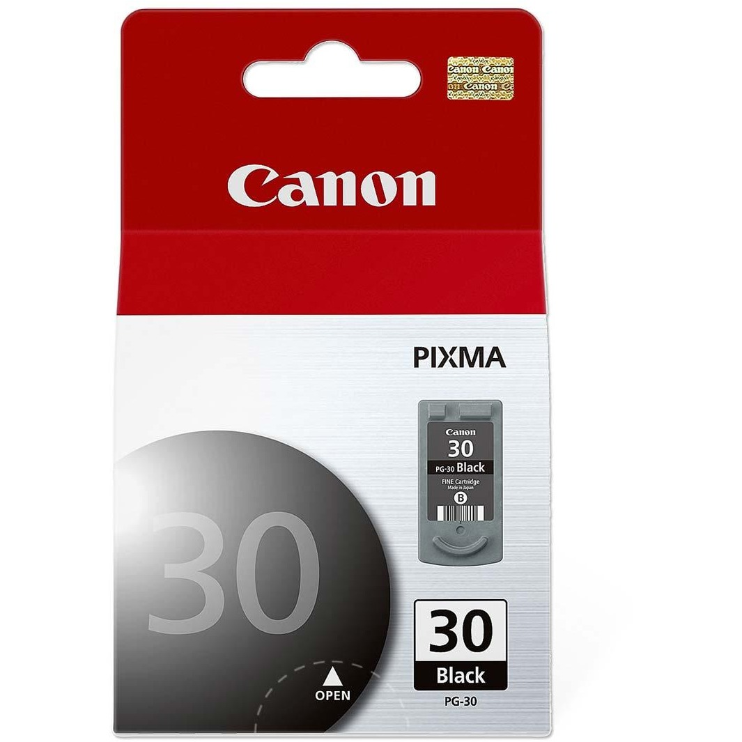 Canon PG-30 Original Ink Cartridge, 1 Each (Quantity)