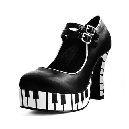 Piano Platform Heel](Ballet Heels For Men)
