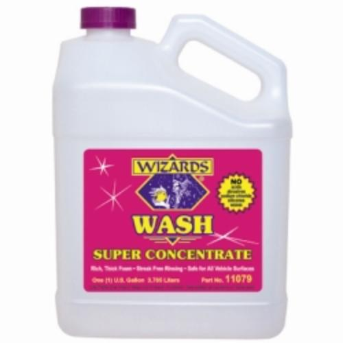 Wizard Products 11079 Wizards Wash Super Concentrate Car Wash, 1 Gallon Bottle, High Sudsing, Neutral Ph