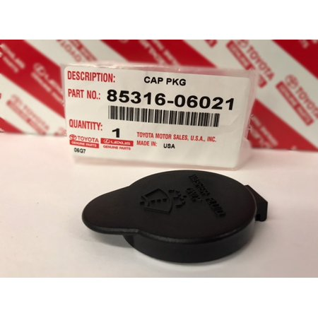 OEM Toyota Washer Fluid Reservoir Cap 85319-06021 ()