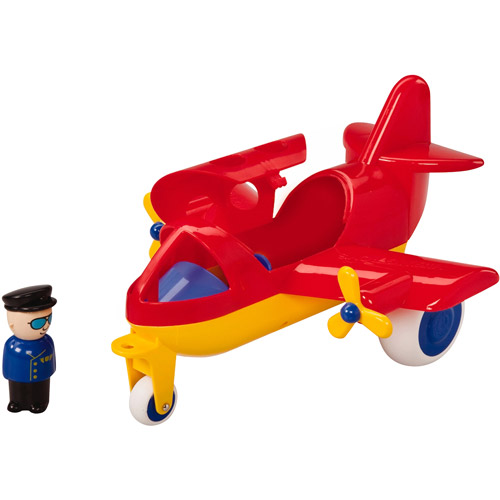 "Viking Large Jet Plane - 10"" Vehicle with Removable Pilot, Passenger & Extra Seats"