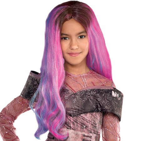 Party City Audrey Wig for Girls, Descendants 3, Halloween Costume Accessories, One