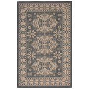 Liora Manne Terrace 1781/77 Kilim Charcoal Area Rug 39 Inches X 59 Inches