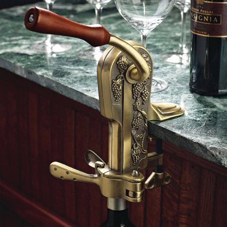 Antique Corkscrew (Wine Enthusiast 4331202 Legacy Corkscrew, Antique)