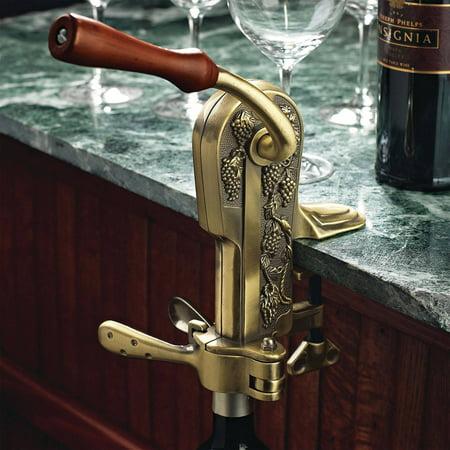 Bronze Antique Corkscrew (Wine Enthusiast 4331202 Legacy Corkscrew, Antique)