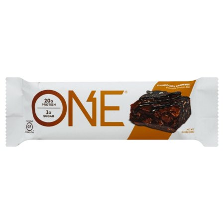 One Chocolate Brownie Flavored Protein Bar, 2.12 oz