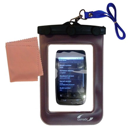 Gomadic Clean And Dry Waterproof Protective Case Suitablefor The Motorola Ciena To Use Underwater