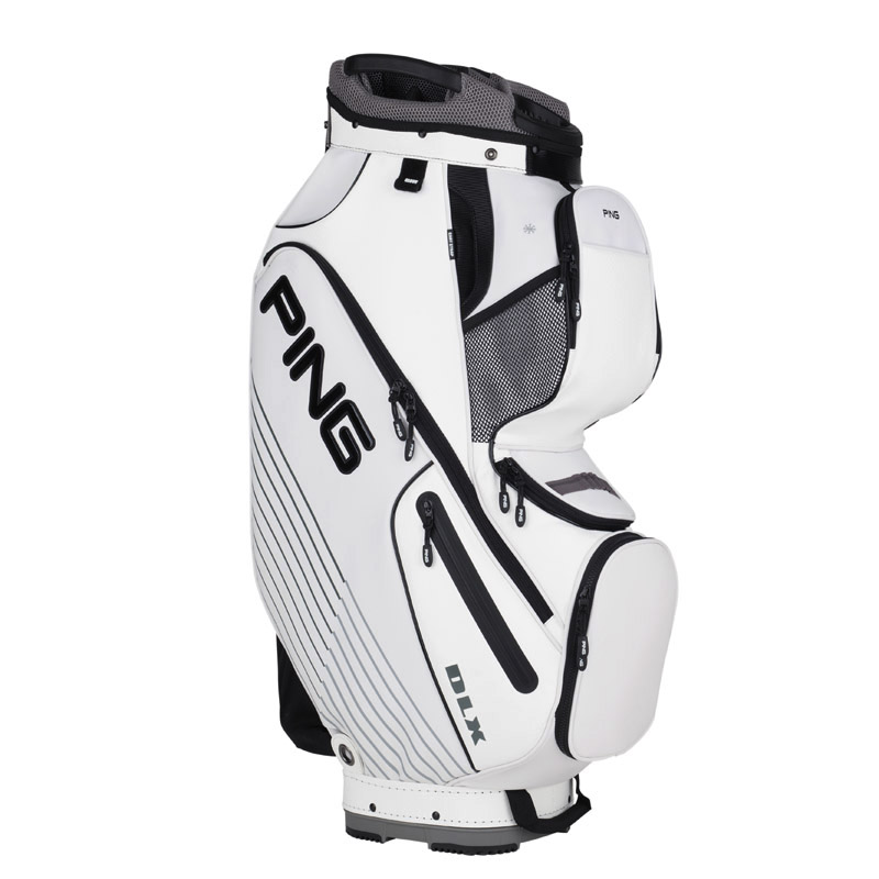New Ping 2016 DLX Cart Bag (White)