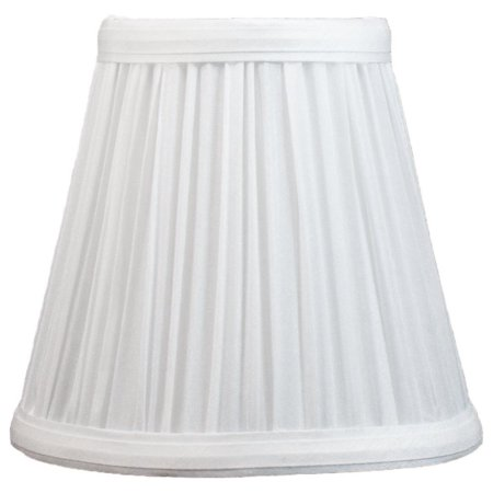Chandelier Pleats Shade - Urbanest Mushroom Pleated Chandelier Lamp Shade, 3x5x4.5