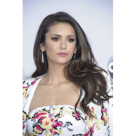 Nina Dobrev At Arrivals For 2015 American Music Awards   Arrivals 2 Microsoft Theater Los Angeles Ca November 22 2015 Photo By Elizabeth Goodenougheverett Collection Photo Print