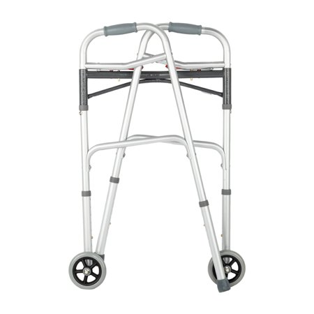 UBesGoo Front Wheeled Walker Folding Deluxe with 2 Button