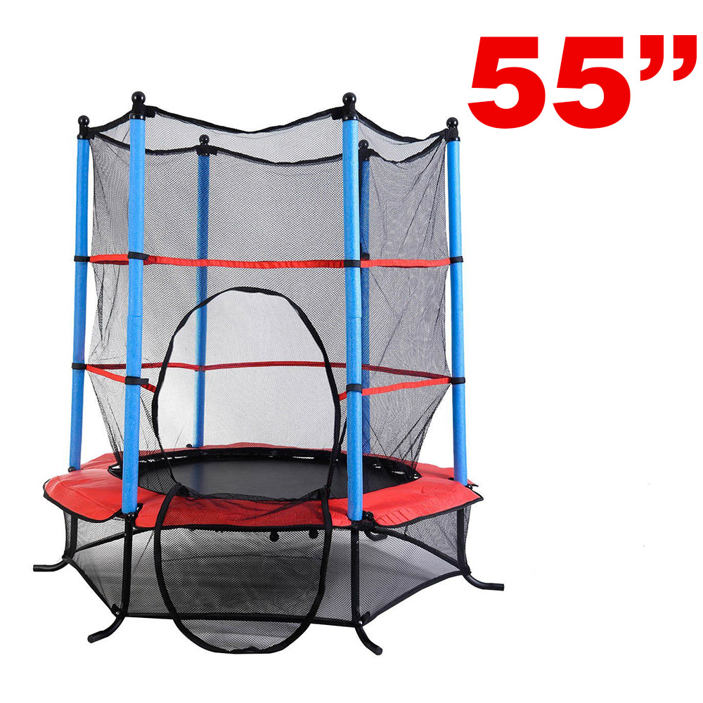 New Clevr Trampoline with Safety Enclosure Net, 4 variable sizes