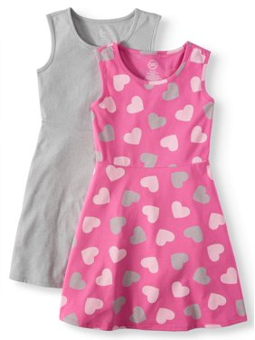 571686500ed Little Girls Dresses   Rompers - Walmart.com