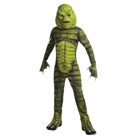 Boys Creature Of The Black Lagoon Halloween Costume Monsterville Small 4-6