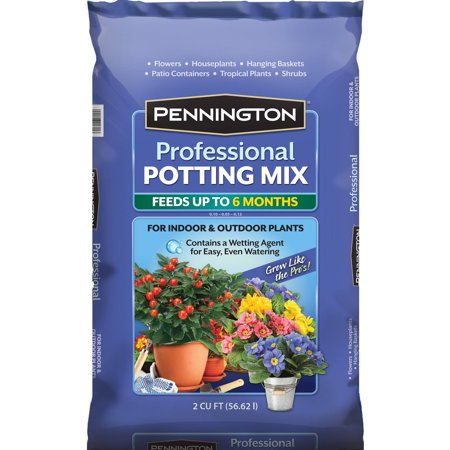 Pennington prefessional potting mix potting soil 2 cubic for Potting soil clearance