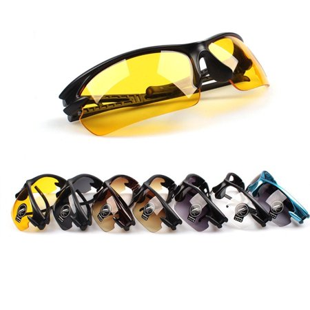 Cycling Riding Sunglasses Night Vision Driving Glasses Sports Goggles (Best Cheap Night Vision Goggles)