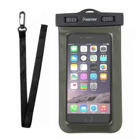 - Insten Waterproof Underwater Phone Pouch Case Carrying Bag with Lanyard & Armband for iPhone XS XS Max XR X 8 7+ 6 Samsung S10 S10e S9 S9+ S8 S7 Plus Edge ZTE Zmax Pro Max Blade Spark Universal