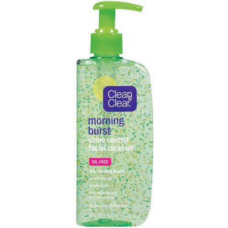 Clean   Clear Morning Burst Shine Control Facial Cleanser  8 Oz