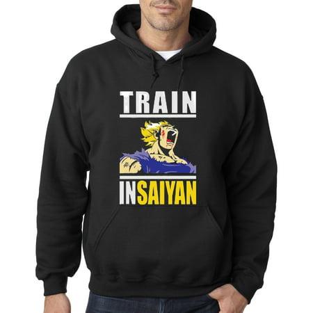 292 - Hoodie Train Insaiyan Gym Goku Dbz Dragon Ball Z Sweatshirt