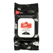 (2 pack) Yes To Tomatoes Detoxifying Charcoal Facial Wipes, 30 Ct