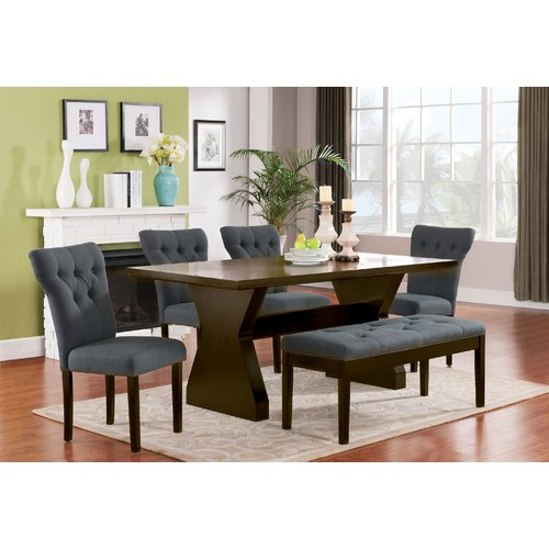 Darby Home Co Cheatham 6 Piece Dining Set