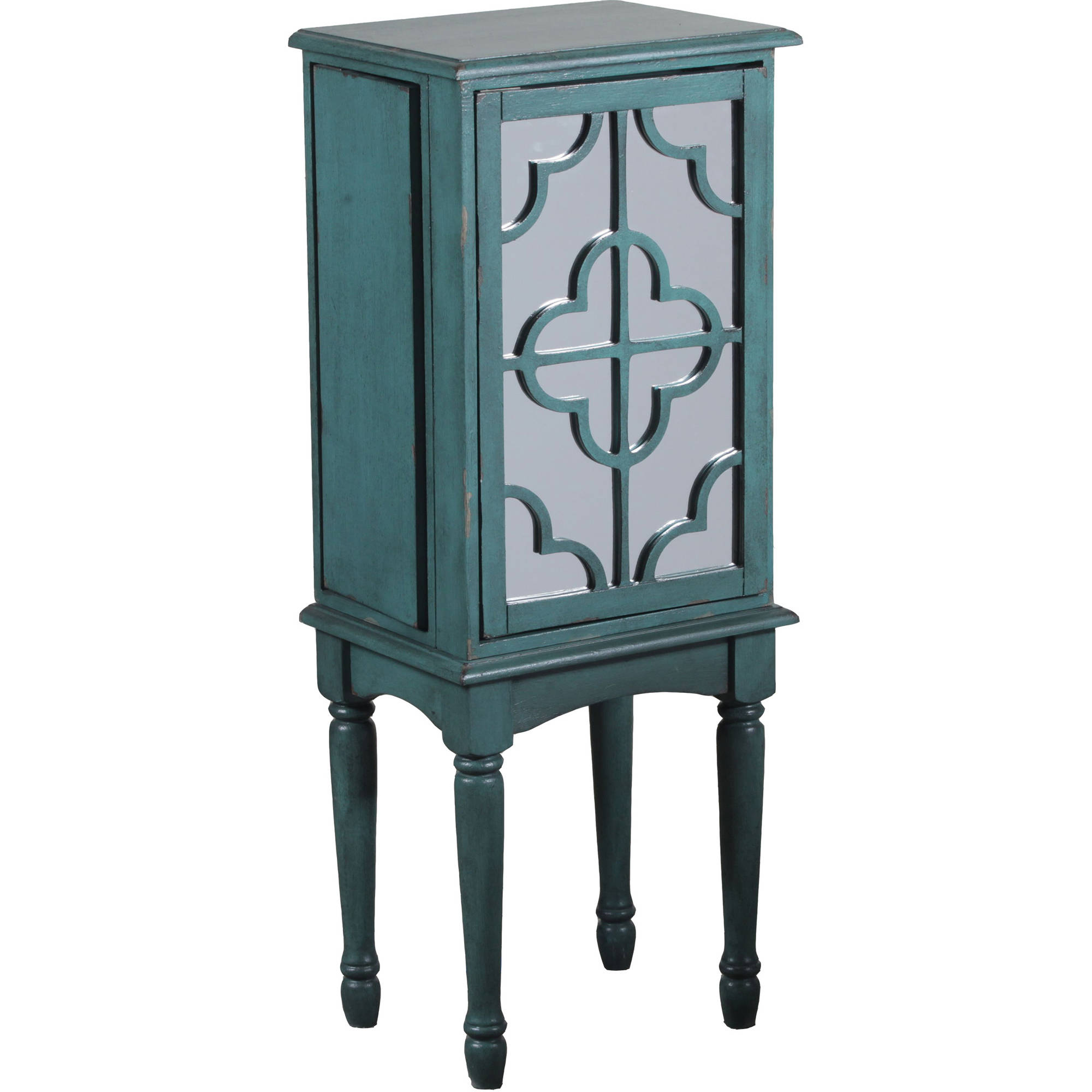 Mazie Jewelry Armoire, Teal