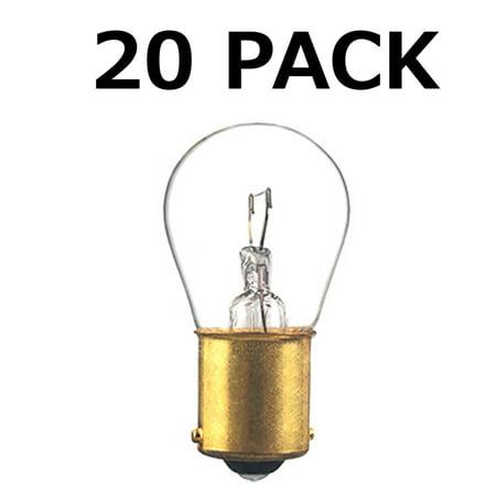20x 1156 12v Light Bulb Car Brake Stop Signal Turn Reverse Tail Lamp BA15s