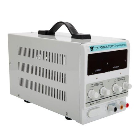 QW-MS3010D 30V 10A Adjustable DC Stabilizer Power Supply (US Standard) 10a Linear Power Supply