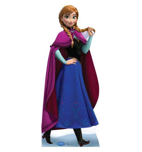 "Advanced Graphics 1756 Anna 2 - Frozen - 68"" x 28""  Cardboard Standup"