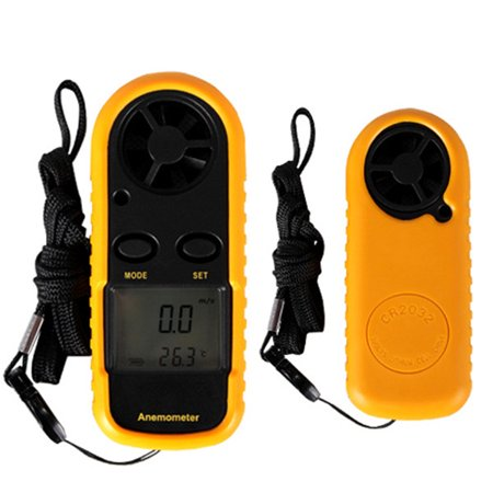 Anemometer Wind (Digital Anemometer Handheld Thermometer Wind Speed Meter GM816 For Measuring Wind Speed,)