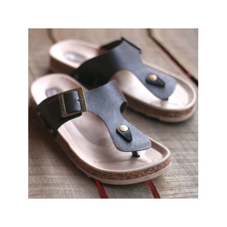 4201149ec Flip Flops Summer Cork Sandals Slippers Womens Mens Lovers Beach Flats Shoes  - Walmart.com