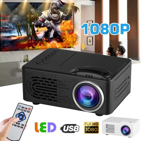 EEEkit Home 1080p Mini LED Video Movie Game Projector Compact Pocket Projector...