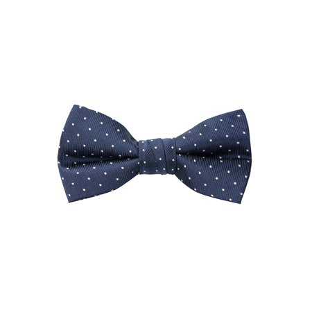Spring Notion Boy's Dotted Woven Bow Tie