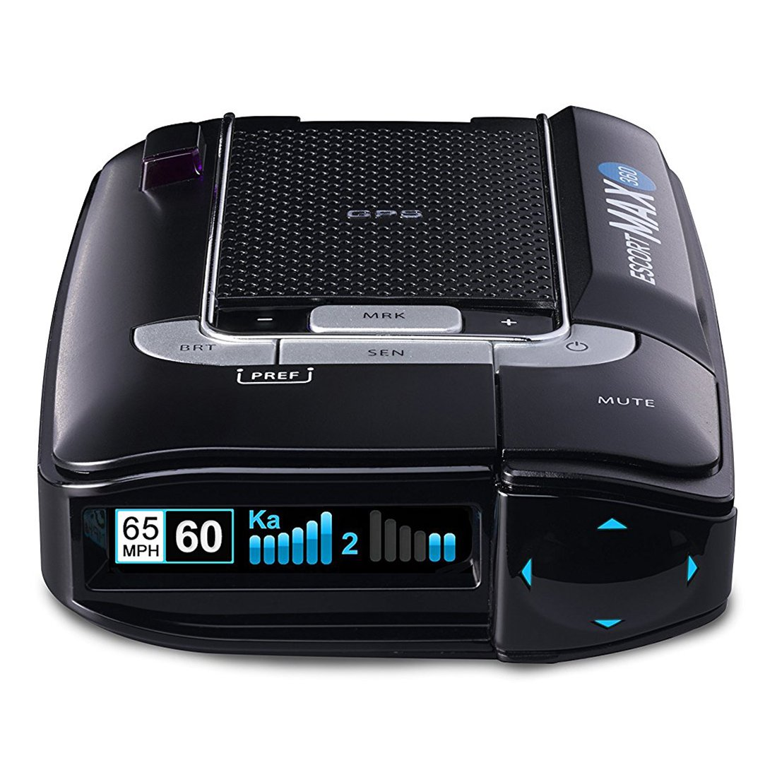 Escort 0100024-2 Max 360 Degree Radar Laser Detector by Escort