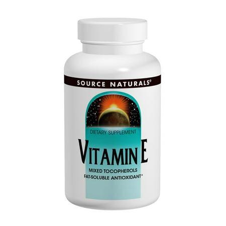 Source Naturals Source Naturals  Vitamin E, 250