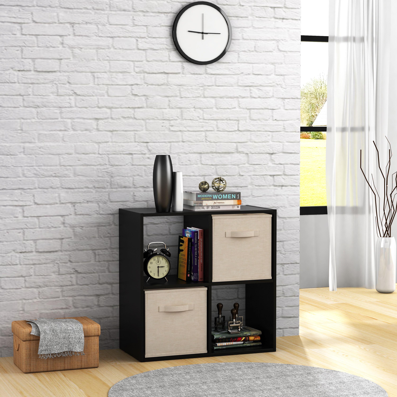 Mainstays 4 Cube Storage Organizer, Multiple Colors