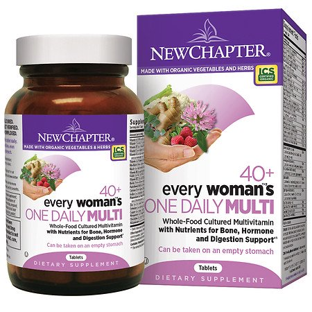 New Chapter One de chaque femme Daily Multivitamin 40+, comprimés 72,0 ea (pack de 1)