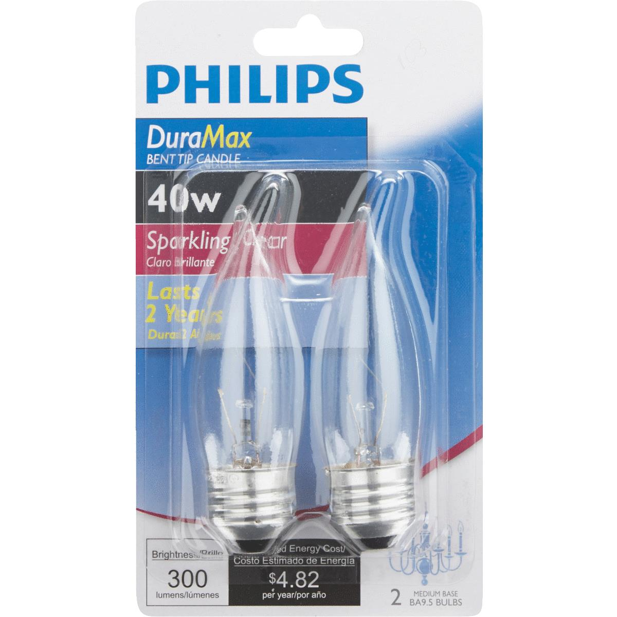 Philips DuraMax BA9.5 Incandescent Decorative Light Bulb