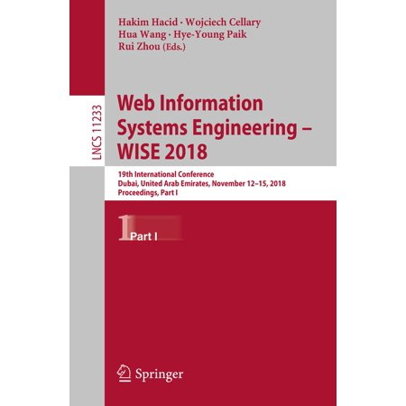Web Information Systems Engineering – WISE 2018 - (International Journal Of Web Engineering And Technology)