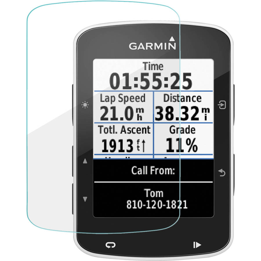 BoxWave ClearTouch Glass 9H Tempered Glass Screen Protection for Garmin Edge 520