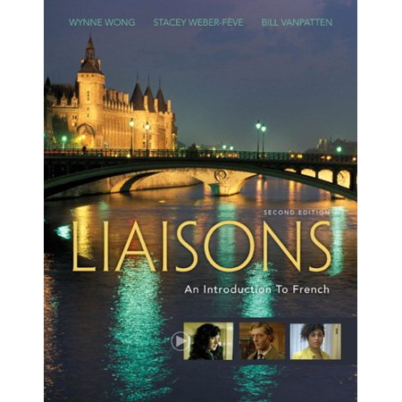 liaisons an introduction to french with ilrn tm heinle learning